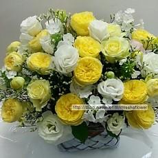 꽃바구니-카탈리나 장미(고급)
